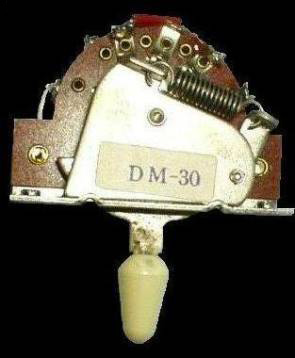 3-Way spring loaded switch